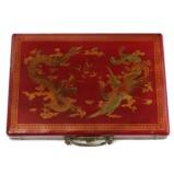 Traveller Mahjong Set in Red Case