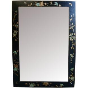 Black Mirror w/ Paintings - Vertical
