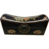Black Large Pillow Shape Jewellery Box