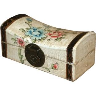Creamy Medium Pillow Shape Jewellery Box