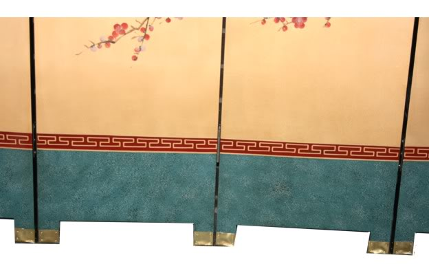 Cherry Blossom Room Divider Screen - Part 3