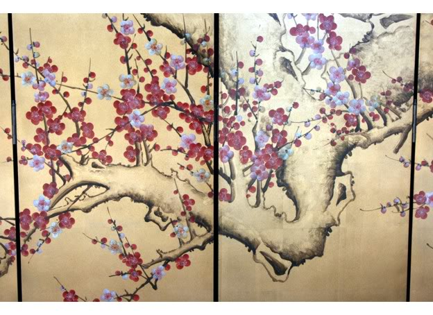 Cherry Blossom Room Divider Screen - Part 6