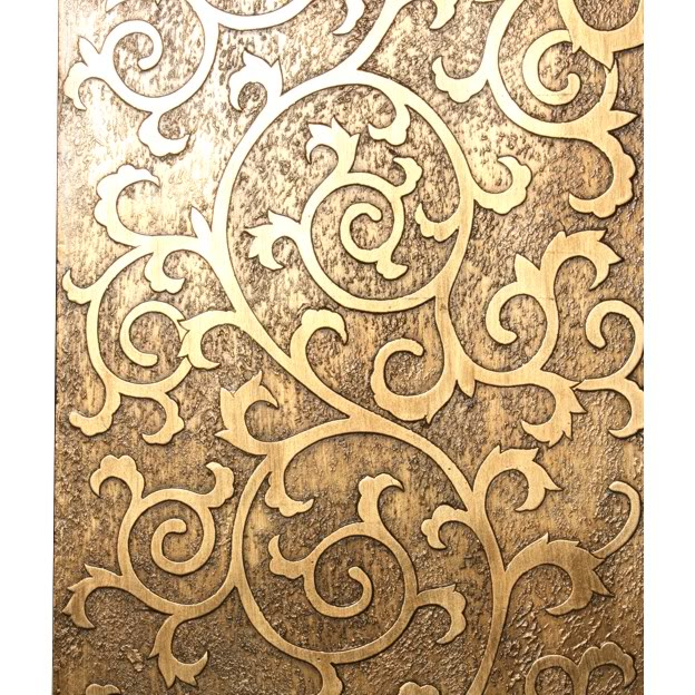 Floral Gold Coromandel Screen - Part 2
