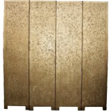 Floral Gold Coromandel Room Divider Screen