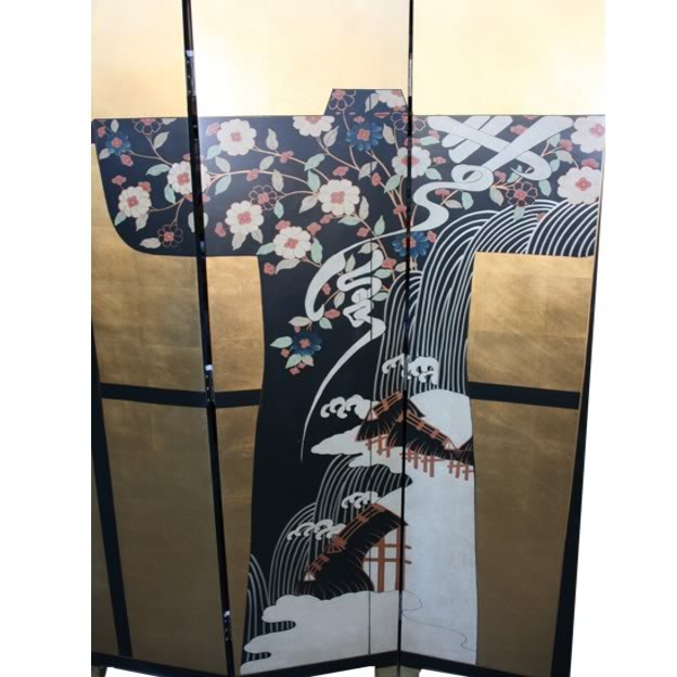 Japanese Kimono With Clothes Rack Screen - Part 2