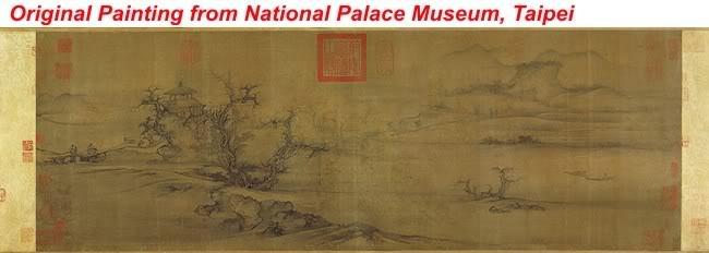 Original Painting from Taiwan National Mesuem