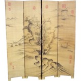 Chinese Mountains Scenery Room Divider Screen