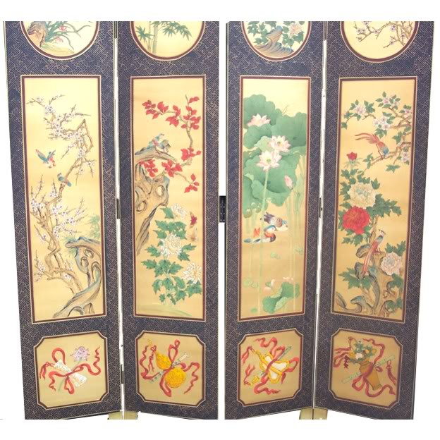 Chinese Four Seasons Plant Screen - Part 2