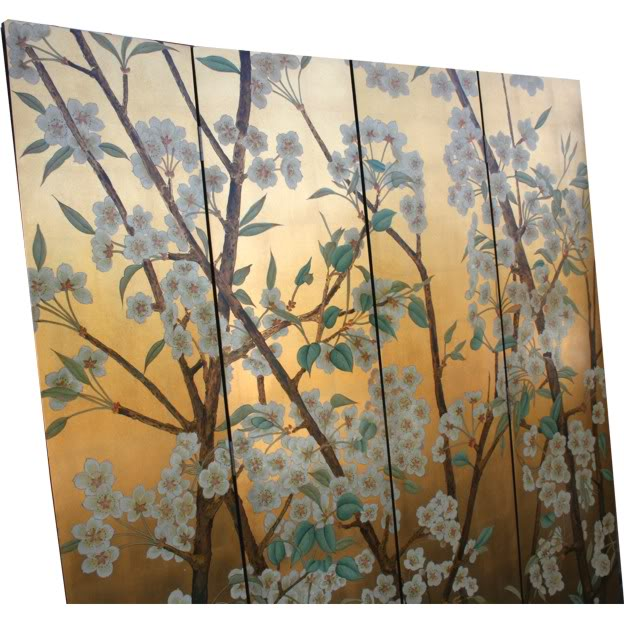 Beautiful Wild Flower Blossom Room Divider Screen - Part 2