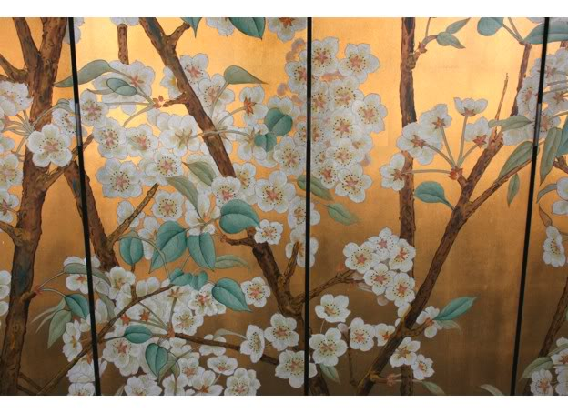 Beautiful Wild Flower Blossom Room Divider Screen - Part 3
