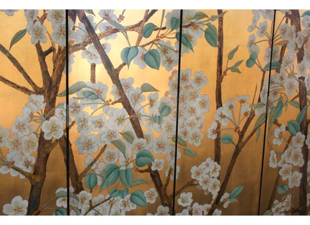 Beautiful Wild Flower Blossom Room Divider Screen - Part 4
