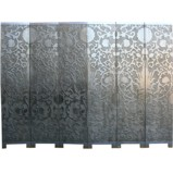 Art Inspired Silver Screen - French Style Sun Flowers