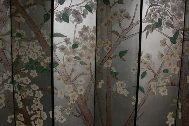 Beautiful Wild Flower Blossom Room Divider Screen