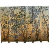 6-Panel Wild Flower Room Divider