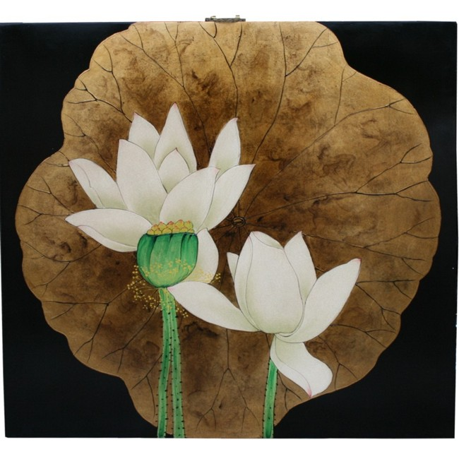 Lotus Wall Hanging Screen