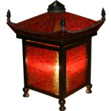 Chinese Imperial Red Decoration Lamp