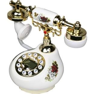 Antique Style Practical Porcelain Telephone