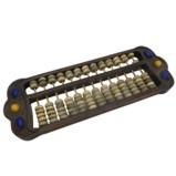 Vintage Chinese Jade Bead Abacus