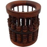 Chinese Abacus Pencil Holder