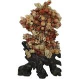 Chinese Flora Decoration Stone