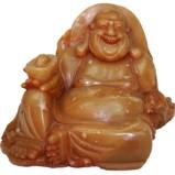 Stone Buddha Maitreya Treasure Holding