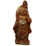 Stone Buddha Maitreya Treasure Carrying