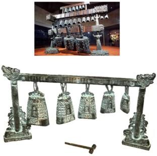 Chinese Bronze Serial Bells Replica (500BC)