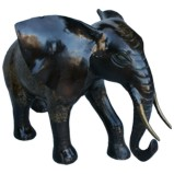 Brass Fortune Elephant Large 50cm