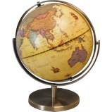 Antique Style 228mm World Globe