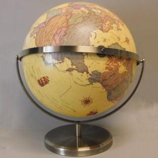 Antique Style 320mm World Globe