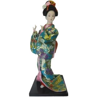 Japanese Kimono Geisha Doll - Dancing Girl