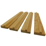 Set of 4 Mahjong Wood Racks