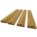 Set of 4 Mahjong Wood Rails