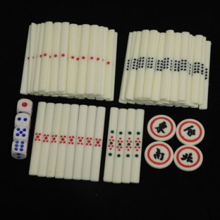 Mahjong Counting Sticks 88 Pcs Winds and Dice