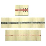 Set of 84 pieces Mahjong Counting Sticks