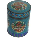 Chinese Cloisonne Enamel Container
