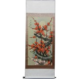 Chinese Painting Scroll - Cherry Blossom