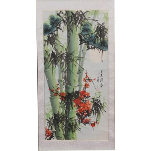 Chinese Painting Scroll - Bamboo