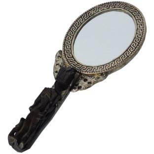 Vintage Hand Mirror - Oval Shape