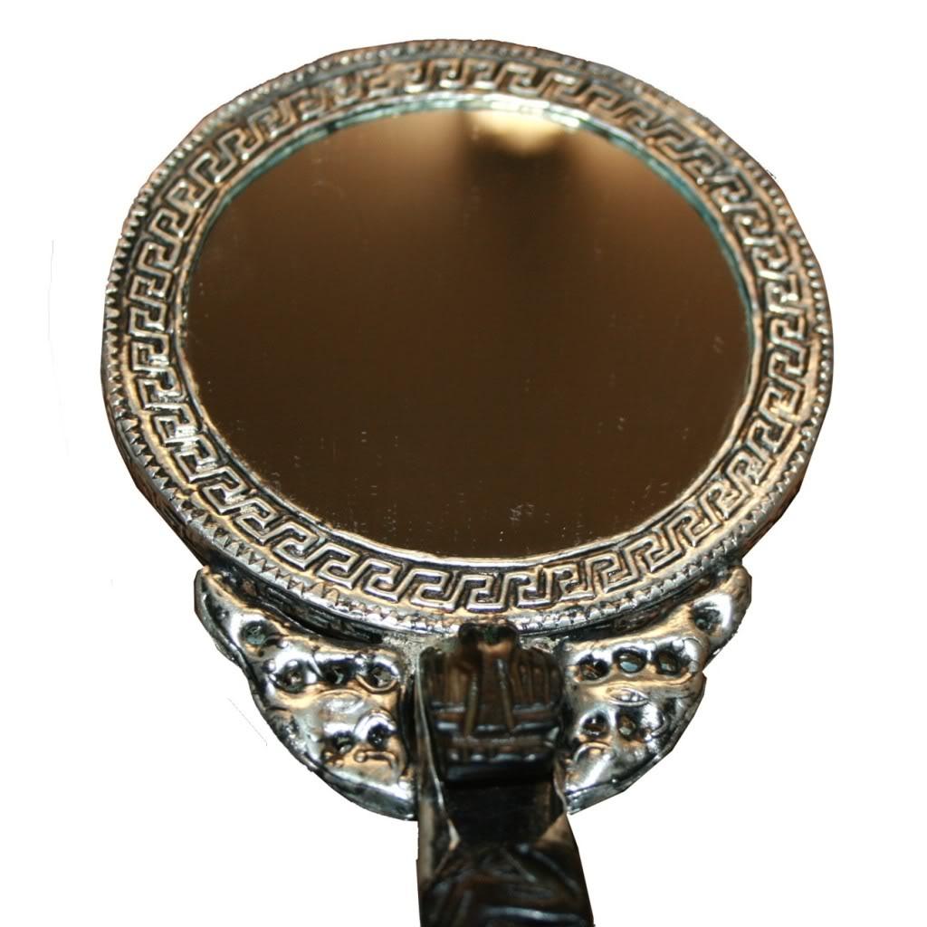 Chinese Vintage Hand Mirror Round Shape