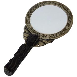 Vintage Hand Mirror - Round Shape