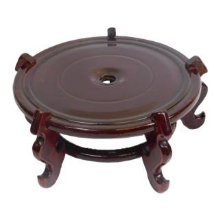 Oriental 20 cm Vase Wood Stand