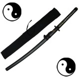 Black Japanese Taichi Katana Practical Training Sword