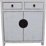 White Lacquer Medium Cabinet