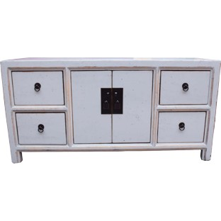 White Low TV Sideboard