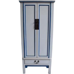 White Slim Cabinet