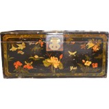 Original Painted Chest Trunk
