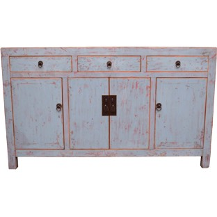 Grey Lacquered Sideboard