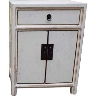 White Bedside Cabinet