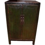 Dark Green Side Cabinet
